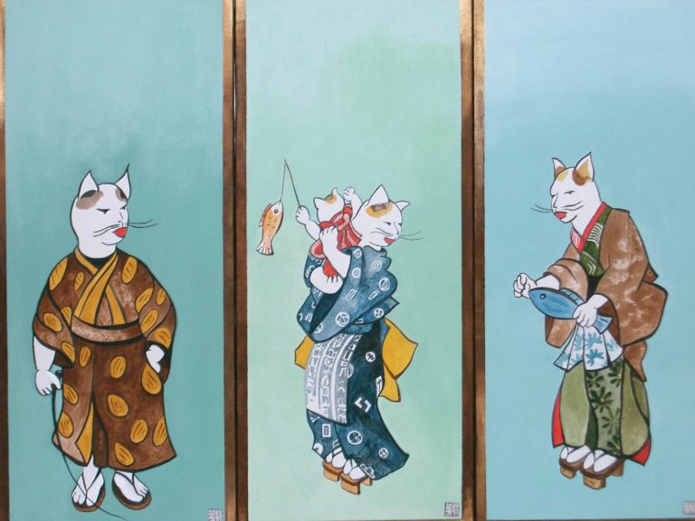 "Yokohama Cats 3 times 12""X27"""