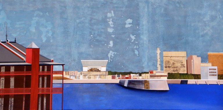 "Yokohama Bay 2 24""X 48"""