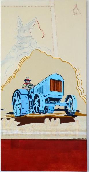 """King of the West 1 24""""X48"""""""