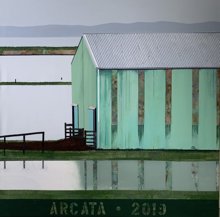 "Arcata Flood 36""X36"" Sold"