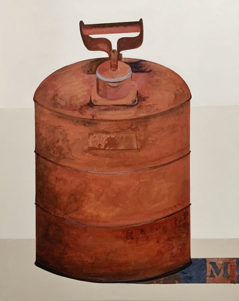 """Oil Can 16""""X20"""""""