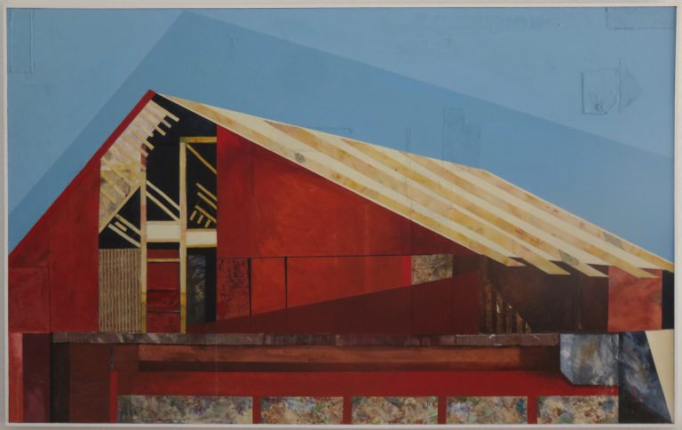 """The end of Drummond Lane 1 48"""" X 30"""""""