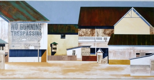 """Snyderdale Farm Revisited 24""""X48"""""""