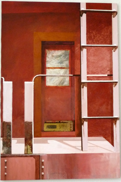 """Red Caboose 24""""X37"""""""