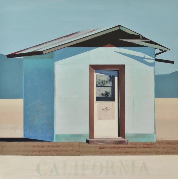 "California 36""X36"""