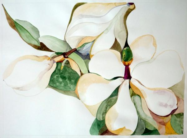 """Magnolia Flower 22""""X30"""