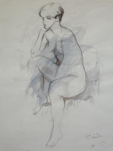 """Figure Study 4 18""""X24"""""""