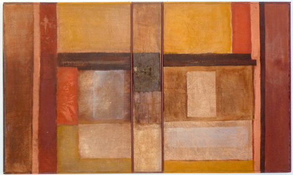 """Mexico Composition 41""""X24"""" Sold"""